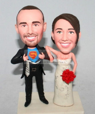 Superman Custom cake toppers 10620